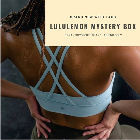 LULULEMON | NEW WITH TAGS MYSTERY BOX